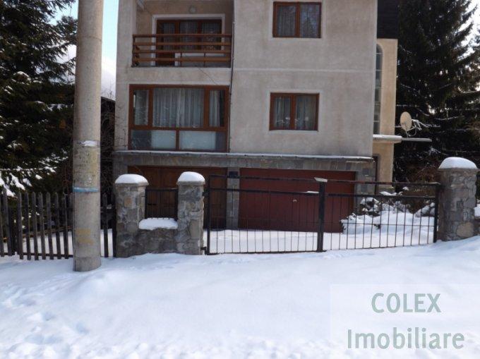 Apartament vanzare Sinaia 4 camere, suprafata utila 240 mp, 2 grupuri sanitare. 110.000 euro negociabil. Etajul 1. Apartament Furnica Sinaia  Prahova