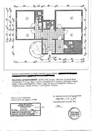 vanzare apartament cu 4 camere, decomandat, orasul Sinaia