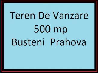 vanzare teren intravilan de la proprietar cu suprafata de 500 mp, in zona Zamora, orasul Busteni