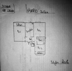 vanzare apartament decomandat, zona Centru, orasul Zalau, suprafata utila 60 mp