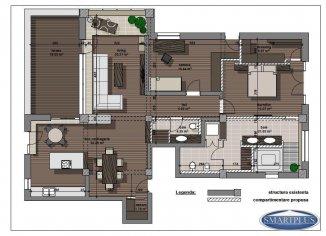 vanzare apartament cu 5 camere, decomandat, in zona Ultracentral, orasul Satu Mare