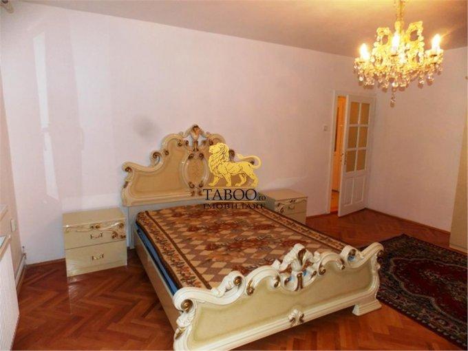 Apartament de inchiriat direct de la agentie imobiliara, in Sibiu, in zona Strand, cu 400 euro. 1 grup sanitar, suprafata utila 120 mp.