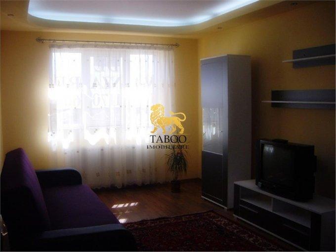 Apartament de inchiriat in Sibiu cu 2 camere, cu 1 grup sanitar, suprafata utila 49 mp. Pret: 220 euro.