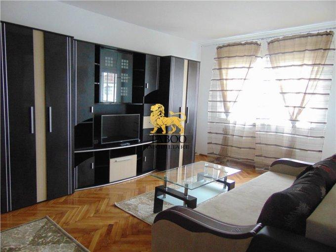 Apartament de inchiriat in Sibiu cu 2 camere, cu 1 grup sanitar, suprafata utila 48 mp. Pret: 300 euro.