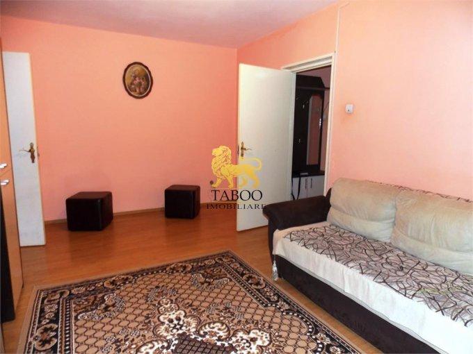 Apartament de inchiriat direct de la agentie imobiliara, in Sibiu, in zona Cedonia, cu 230 euro. 1 grup sanitar, suprafata utila 50 mp.