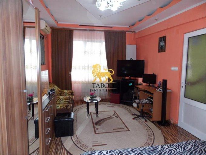 vanzare Apartament Sibiu cu 2 camere, cu 1 grup sanitar, suprafata utila 40 mp. Pret: 33.800 euro.