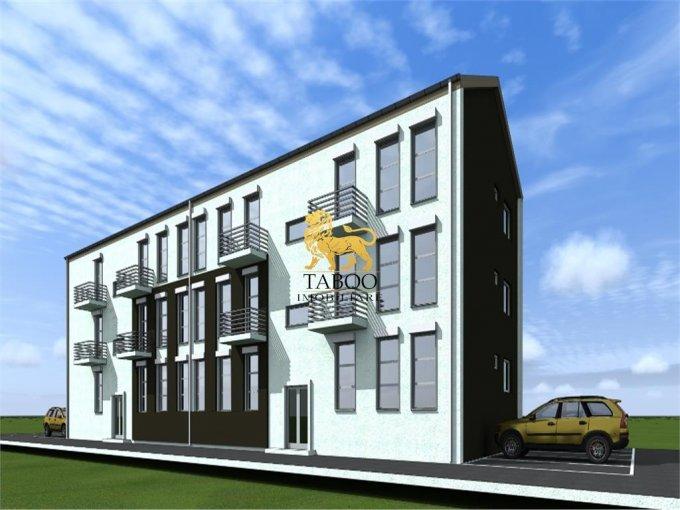 vanzare Apartament Sibiu cu 2 camere, cu 1 grup sanitar, suprafata utila 43 mp. Pret: 28.500 euro.