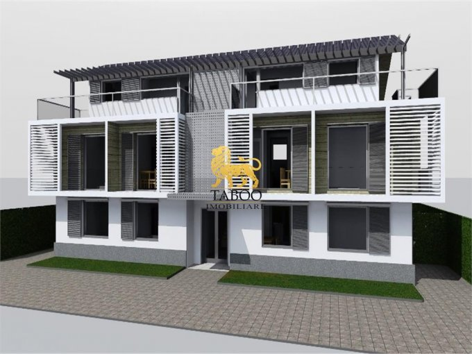 Apartament de vanzare in Sibiu cu 2 camere, cu 1 grup sanitar, suprafata utila 57 mp. Pret: 45.500 euro.