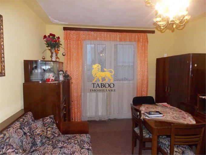 vanzare Apartament Sibiu cu 2 camere, cu 1 grup sanitar, suprafata utila 41 mp. Pret: 35.700 euro.
