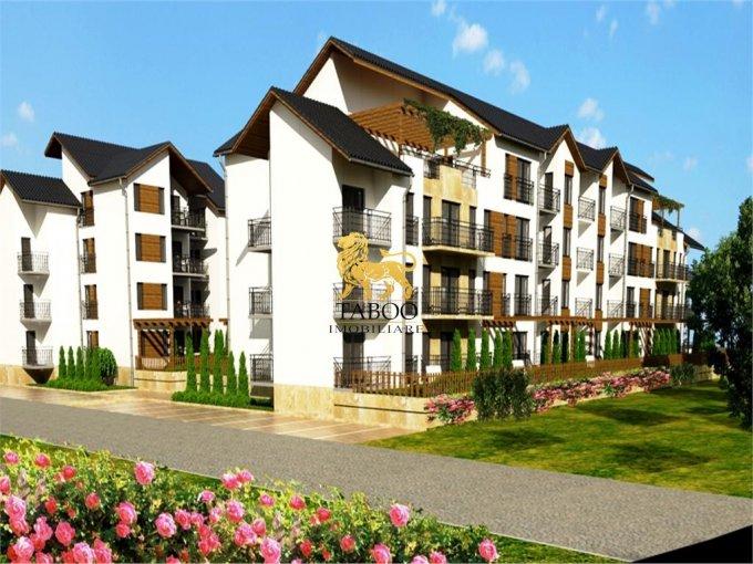 Apartament de vanzare in Sibiu cu 2 camere, cu 1 grup sanitar, suprafata utila 45 mp. Pret: 28.500 euro.