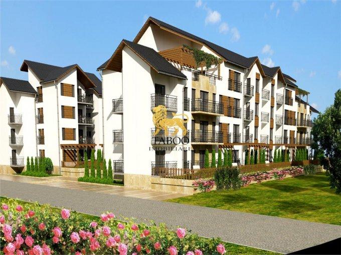 Apartament vanzare Calea Cisnadiei cu 2 camere, etajul 3 / 3, 1 grup sanitar, cu suprafata de 48 mp. Sibiu, zona Calea Cisnadiei.