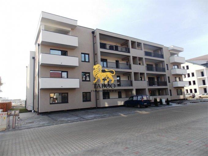 Apartament de vanzare in Sibiu cu 2 camere, cu 2 grupuri sanitare, suprafata utila 64 mp. Pret: 60.000 euro.
