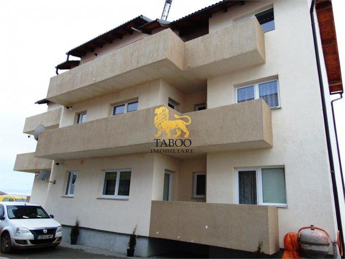 Apartament de vanzare in Sibiu cu 2 camere, cu 1 grup sanitar, suprafata utila 42 mp. Pret: 28.700 euro.
