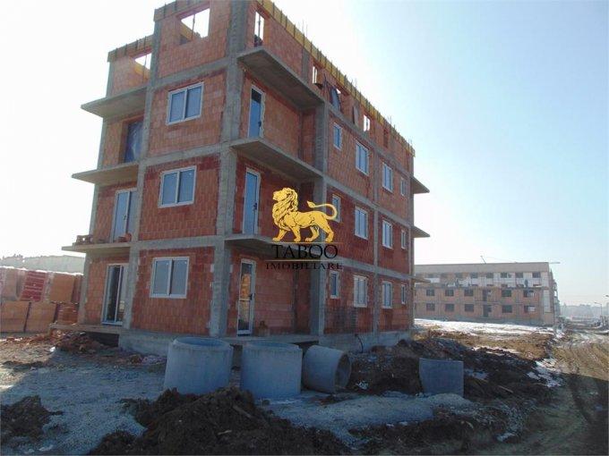 Apartament vanzare Sibiu 2 camere, suprafata utila 54 mp, 1 grup sanitar. 35.500 euro. Etajul 1 / 3. Apartament Ciresica Sibiu