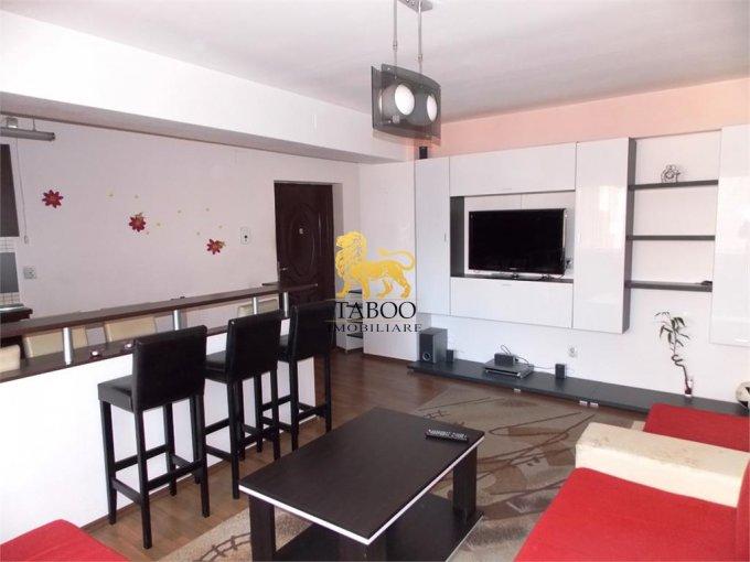 Apartament de inchiriat direct de la agentie imobiliara, in Sibiu, in zona Turnisor, cu 220 euro. 1 grup sanitar, suprafata utila 50 mp.