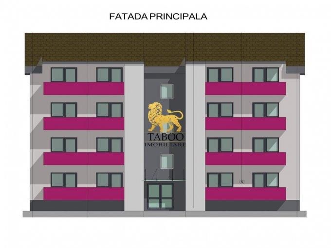 vanzare Apartament Sibiu cu 2 camere, cu 1 grup sanitar, suprafata utila 49 mp. Pret: 35.000 euro.