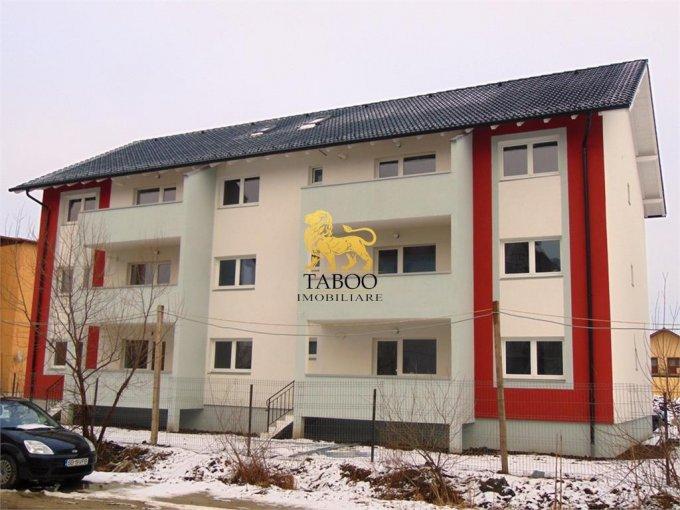 Apartament de vanzare in Sibiu cu 2 camere, cu 1 grup sanitar, suprafata utila 49 mp. Pret: 35.000 euro.