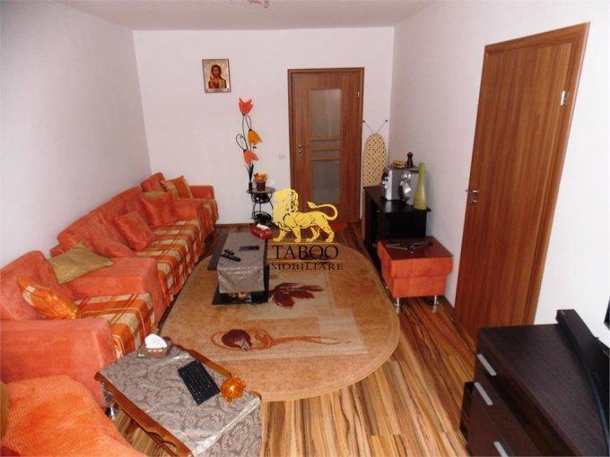 Apartament vanzare Sibiu 2 camere, suprafata utila 53 mp, 4 grupuri sanitare. 48.000 euro. La Parter / 4. Apartament Sibiu