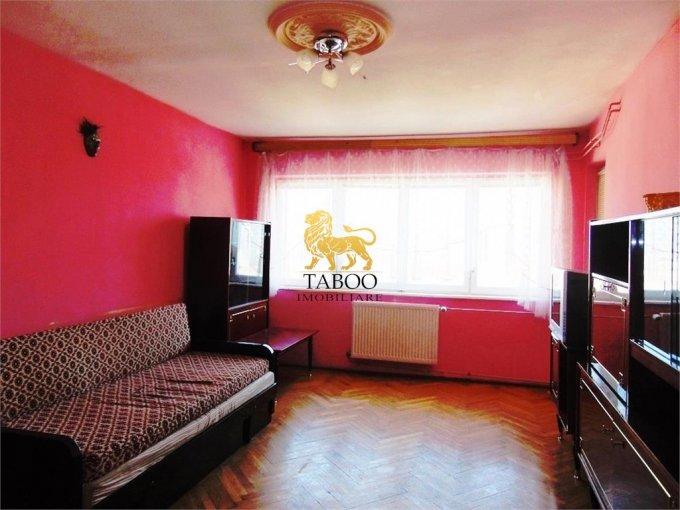 Apartament de vanzare direct de la agentie imobiliara, in Sibiu, cu 53.500 euro. 1 grup sanitar, suprafata utila 71 mp.