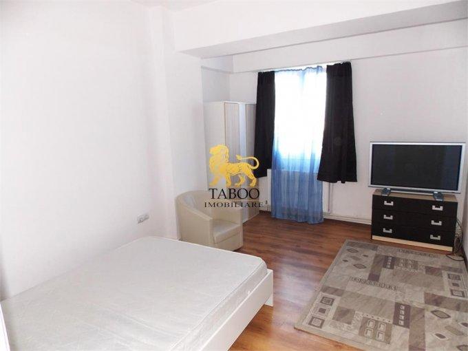 Apartament de inchiriat in Sibiu cu 2 camere, cu 1 grup sanitar, suprafata utila 42 mp. Pret: 230 euro.