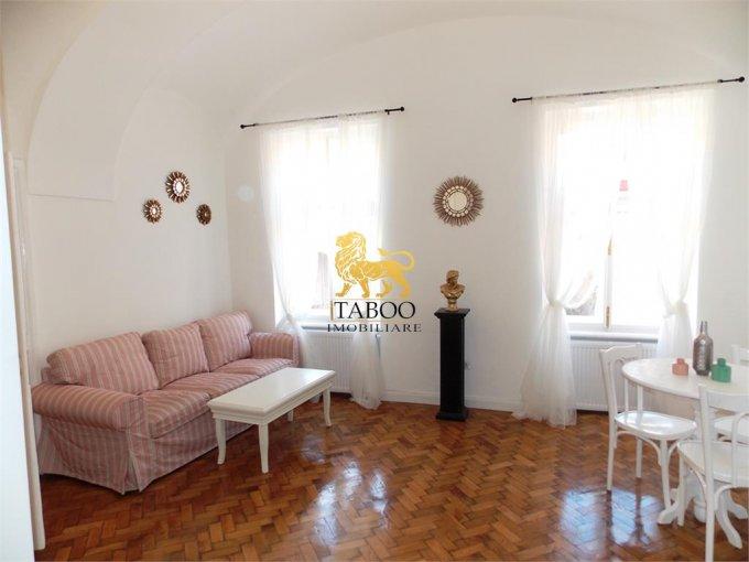 Apartament de inchiriat direct de la agentie imobiliara, in Sibiu, cu 420 euro. 1 grup sanitar, suprafata utila 45 mp.
