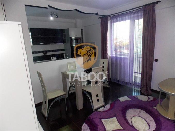 Apartament de inchiriat in Sibiu cu 2 camere, cu 1 grup sanitar, suprafata utila 73 mp. Pret: 350 euro.