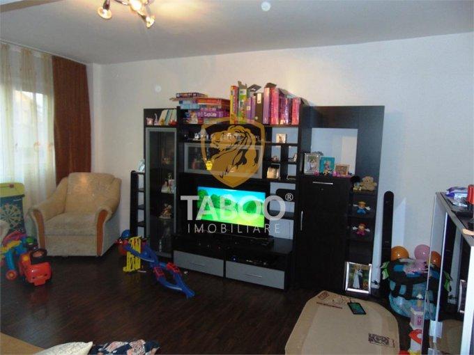 vanzare Apartament Sibiu cu 2 camere, cu 1 grup sanitar, suprafata utila 52 mp. Pret: 51.500 euro.