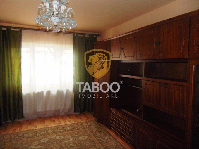 inchiriere Apartament Sibiu cu 2 camere, cu 1 grup sanitar, suprafata utila 60 mp. Pret: 300 euro.