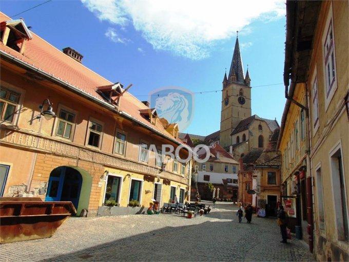 Apartament de vanzare direct de la agentie imobiliara, in Sibiu, cu 95.000 euro. 1 grup sanitar, suprafata utila 114 mp.