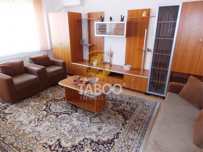Apartament inchiriere Sibiu 2 camere, suprafata utila 63 mp, 1 grup sanitar. 300 euro. Etajul 2 / 3. Apartament Sibiu