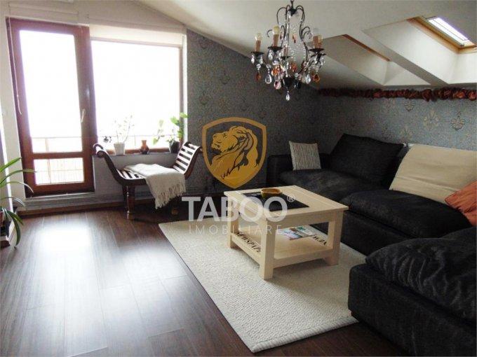 Apartament vanzare cu 2 camere, etajul 3 / 3, 1 grup sanitar, cu suprafata de 60 mp. Sibiu.