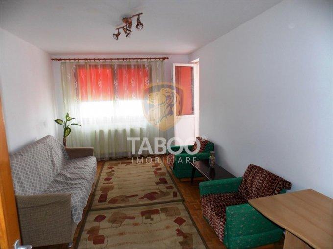 Apartament de inchiriat in Sibiu cu 2 camere, cu 1 grup sanitar, suprafata utila 60 mp. Pret: 230 euro.
