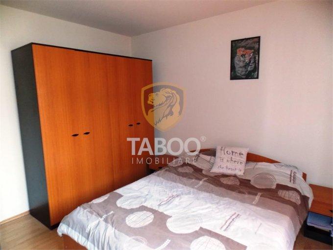 Apartament de inchiriat in Sibiu cu 2 camere, cu 1 grup sanitar, suprafata utila 57 mp. Pret: 280 euro.