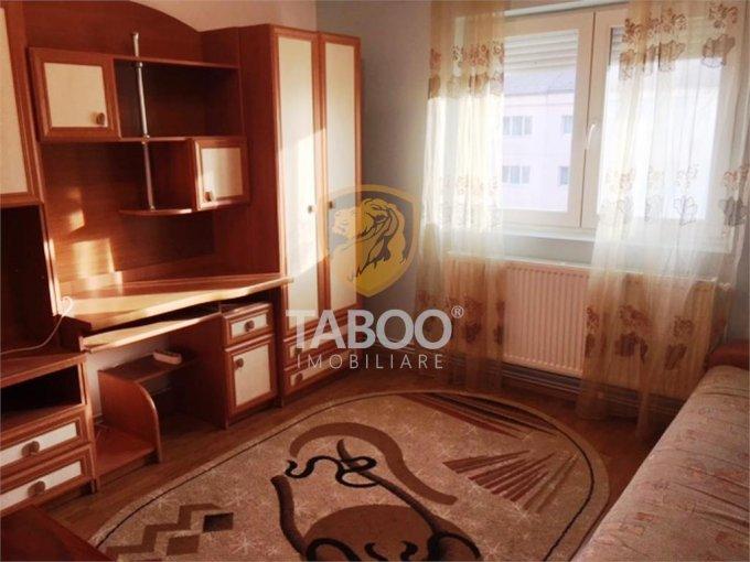 Apartament inchiriere Sibiu 2 camere, suprafata utila 64 mp, 1 grup sanitar. 250 euro. Etajul 4 / 4. Apartament Vasile Aaron Sibiu