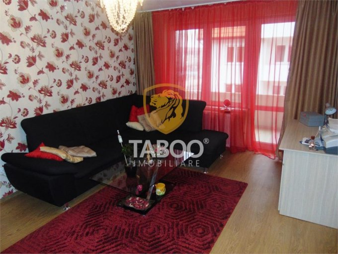 Apartament vanzare Sibiu 2 camere, suprafata utila 58 mp, 1 grup sanitar. 55.000 euro. Etajul 3 / 4. Apartament Ciresica Sibiu