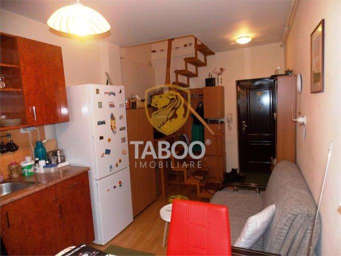 Apartament vanzare Sibiu 2 camere, suprafata utila 32 mp, 1 grup sanitar. 29.500 euro. Etajul Mansarda / 4. Apartament Turnisor Sibiu