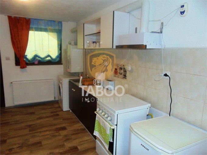 Apartament inchiriere Sibiu 2 camere, suprafata utila 42 mp, 1 grup sanitar. 350 euro. La Parter / 1. Apartament Calea Cisnadiei Sibiu