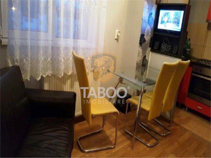 Apartament de vanzare in Sibiu cu 2 camere, cu 1 grup sanitar, suprafata utila 35 mp. Pret: 44.000 euro.