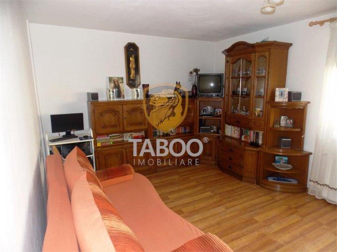 Apartament de vanzare in Sibiu cu 2 camere, cu 1 grup sanitar, suprafata utila 55 mp. Pret: 62.000 euro.