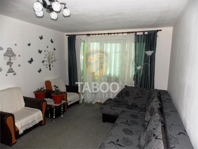 Apartament vanzare Sibiu 2 camere, suprafata utila 58 mp, 1 grup sanitar. 58.500 euro. La Parter / 4. Apartament Ciresica Sibiu