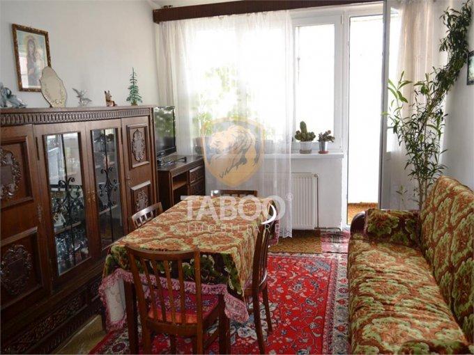 Apartament de inchiriat direct de la agentie imobiliara, in Sibiu, cu 200 euro. 1 grup sanitar, suprafata utila 46 mp.