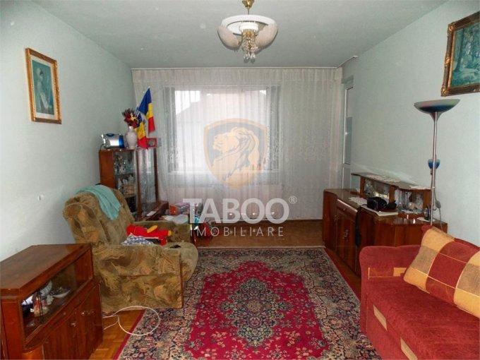 vanzare Apartament Sibiu cu 2 camere, cu 1 grup sanitar, suprafata utila 56 mp. Pret: 54.000 euro.