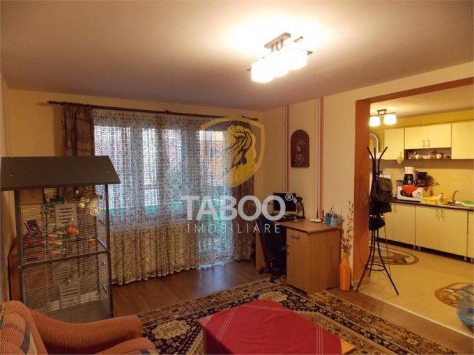 vanzare Apartament Sibiu cu 2 camere, cu 1 grup sanitar, suprafata utila 53 mp. Pret: 71.000 euro.