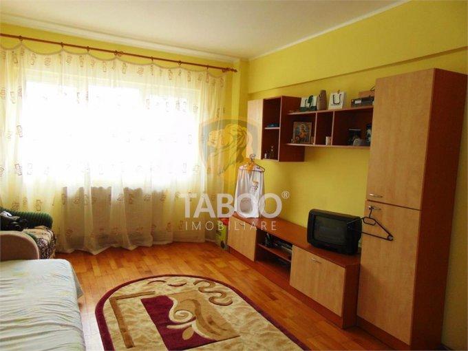Apartament de inchiriat in Sibiu cu 2 camere, cu 1 grup sanitar, suprafata utila 58 mp. Pret: 500 euro.