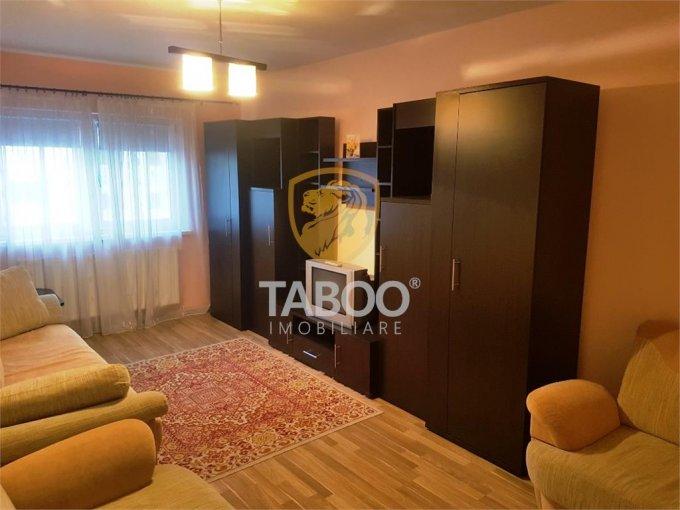 Apartament de inchiriat in Sibiu cu 2 camere, cu 1 grup sanitar, suprafata utila 48 mp. Pret: 280 euro.
