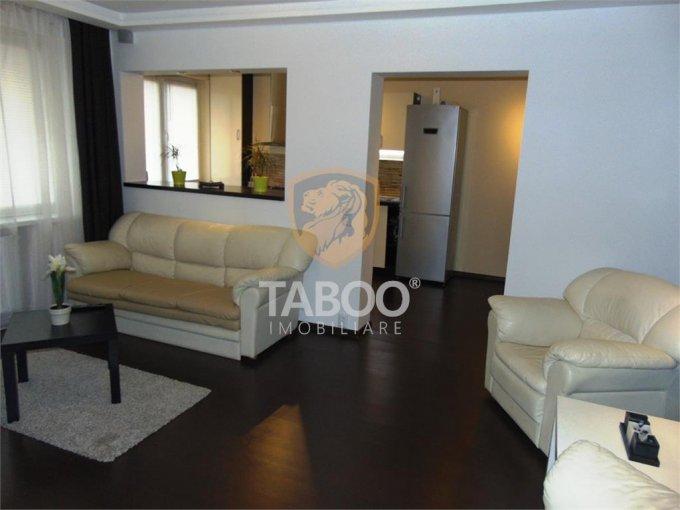 Apartament inchiriere Sibiu 2 camere, suprafata utila 52 mp, 1 grup sanitar. 370 euro. La Parter / 4. Apartament Vasile Milea Sibiu