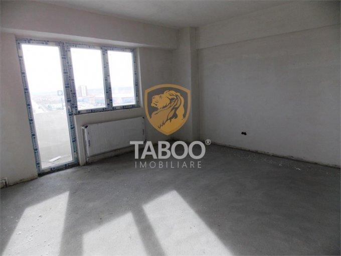 vanzare Apartament Sibiu cu 2 camere, cu 1 grup sanitar, suprafata utila 46 mp. Pret: 37.500 euro.