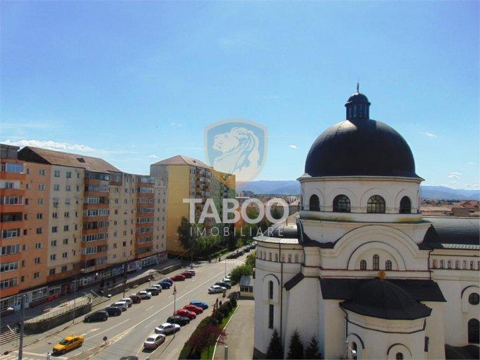 Apartament de vanzare direct de la agentie imobiliara, in Sibiu, cu 62.000 euro. 1 grup sanitar, suprafata utila 52 mp.