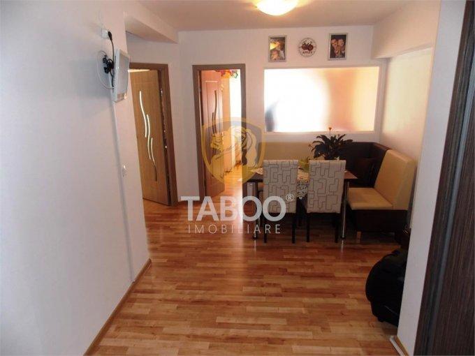 Apartament de vanzare in Sibiu cu 2 camere, cu 1 grup sanitar, suprafata utila 43 mp. Pret: 39.000 euro.
