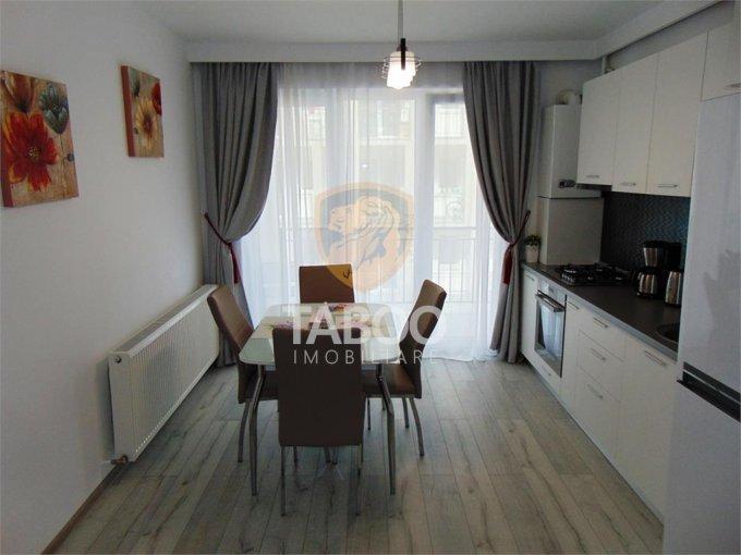 Apartament de inchiriat in Sibiu cu 2 camere, cu 1 grup sanitar, suprafata utila 48 mp. Pret: 380 euro.